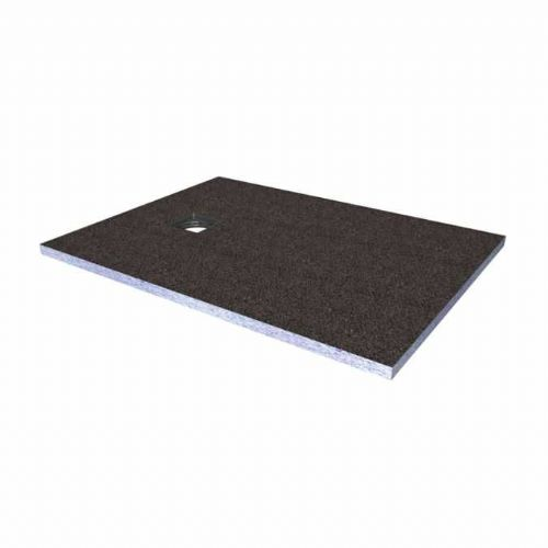 Abacus Elements Rectangular Standard Shower Tray 40mm High With Ended Drain - 1200mm x 1000mm